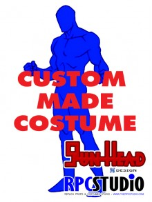 GUN HEAD DESIGN CUSTOM MADE COSTUME SERVICE